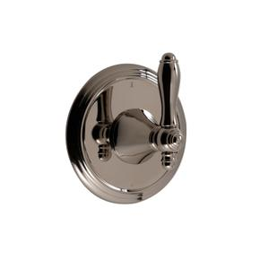 3-way Wall Mount Diverter in Polished Nickel