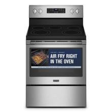 See Details - Electric Range with Air Fryer and Basket - 5.3 cu. ft.