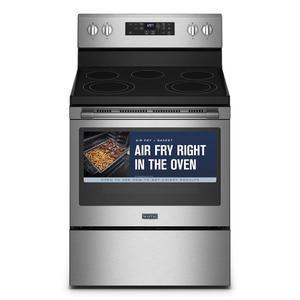 MaytagElectric Range with Air Fryer and Basket - 5.3 cu. ft.