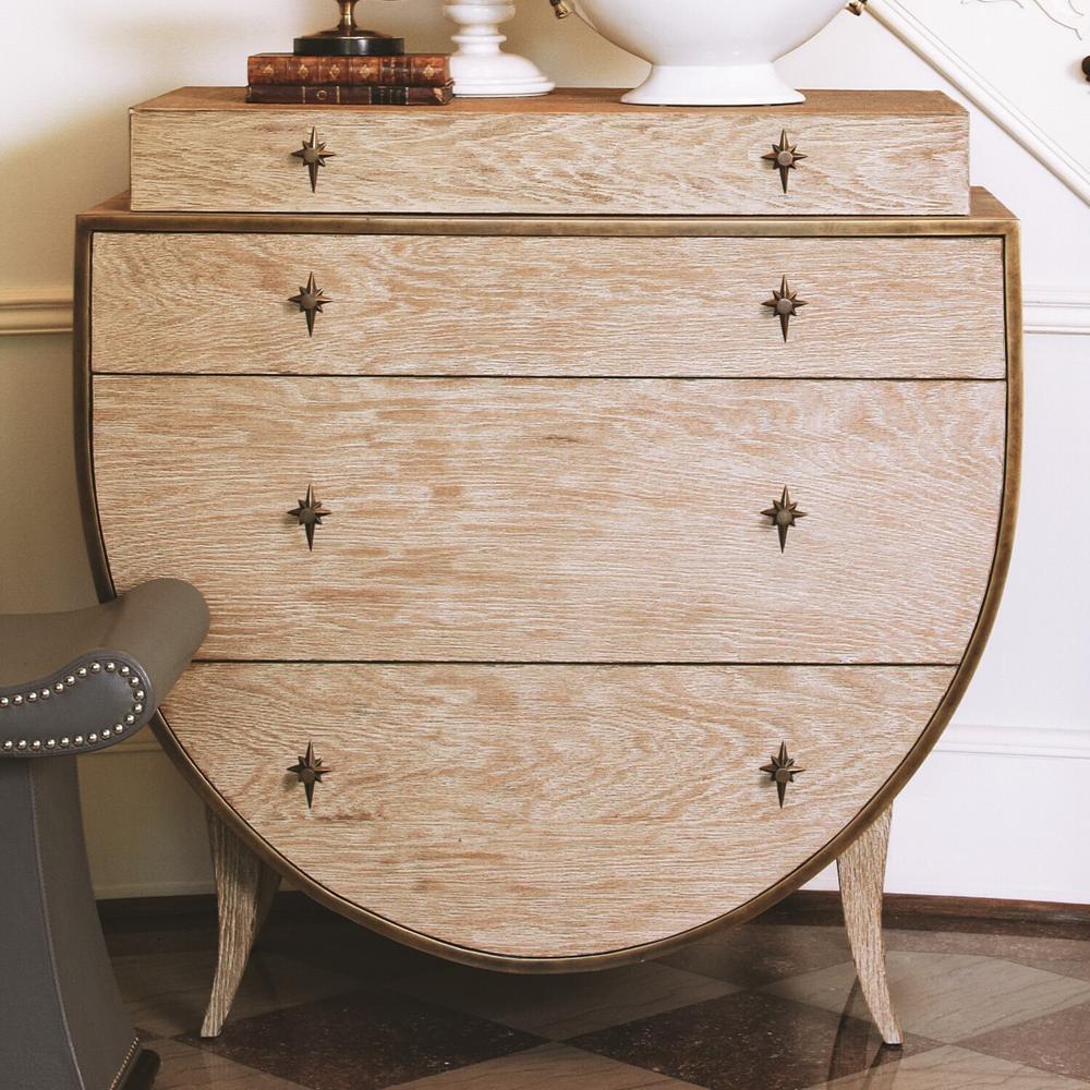 See Details - Klismos Chest-Sandblasted Oak