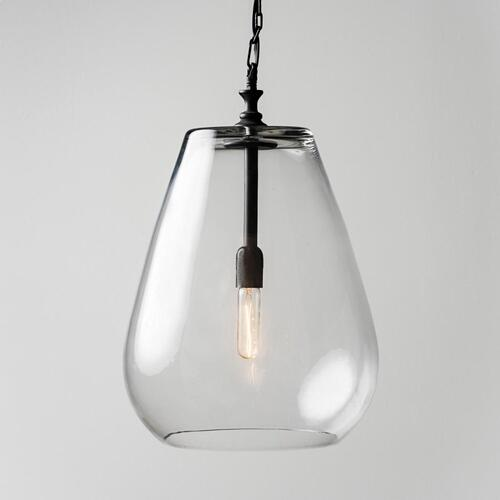 Odense Glass Pendant wBulb