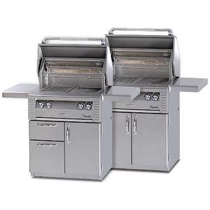 "Alfresco - 30"" Cart w/drawer Grills"