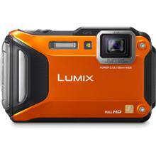 LUMIX DMC-TS5 Wi-Fi Enabled Lifestyle Tough Camera - Orange