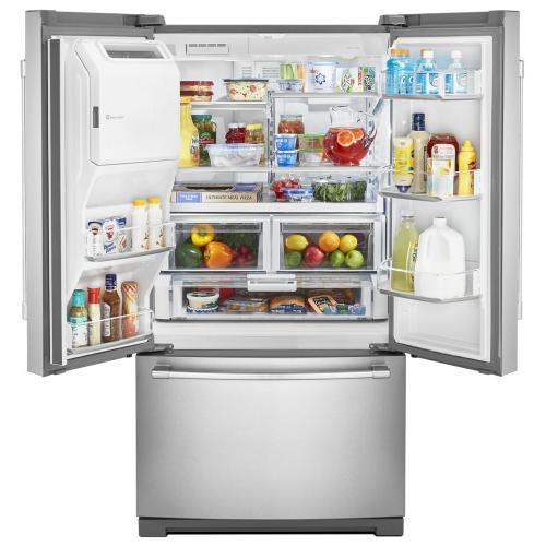 Maytag - 36-Inch Wide French Door Refrigerator - 27 Cu. Ft.
