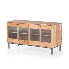 Harvey Media Console-rustic Tan Acacia