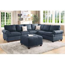 2-pcs Sectional Sofa Set