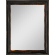Dark Wood Finish Mirror