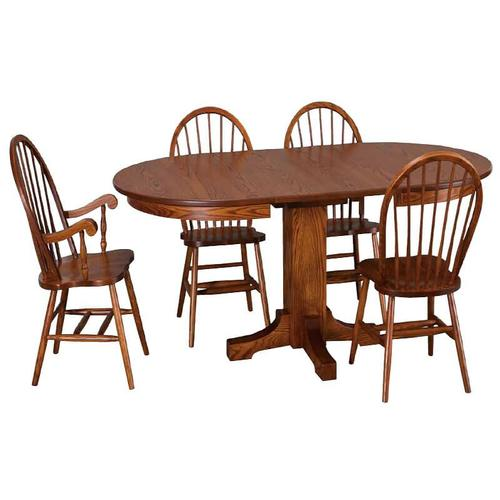 Mission Oval Dining Table