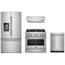 "JennAir Rise 36"" Gas Range Package"