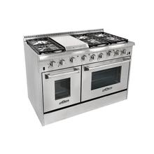 HRG 4804U 48 6 BURNER STAINLESS STEEL PROFESSIONAL GAS RANGE