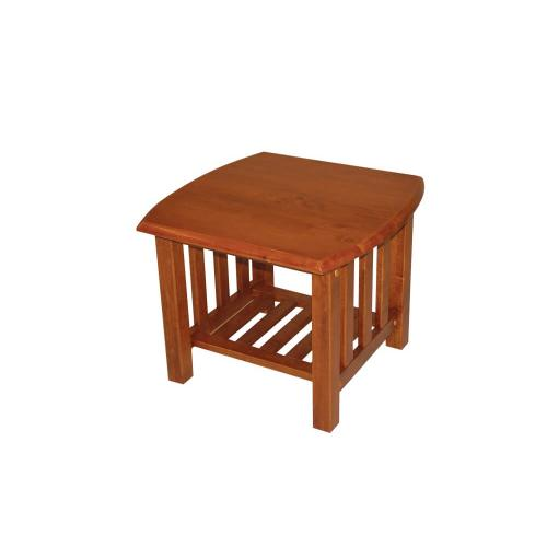 Mission End Table in Barbados Oak