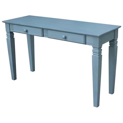 Java Table in Ocean Blue