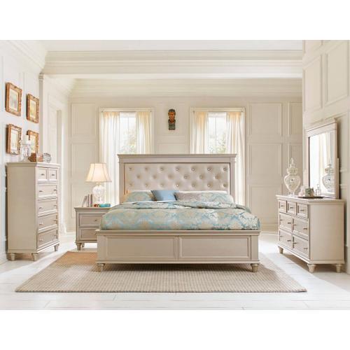Celandine Qn Bed, Dresser, Mirror and Nightstand