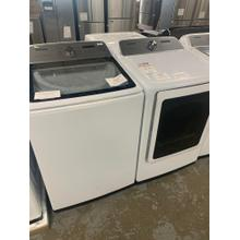 5.0 cu. ft. Top Load Washer with Super Speed in White 7.4 cu. ft. Electric Dryer with Steam Sanitize  in White**OPEN BOX ITEM** Ankeny Location