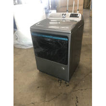 View Product - Smart Capable Top Load Electric Dryer with Extra Power Button - 7.4 cu. ft.