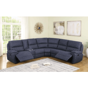 Coaster - 6PC Motion Sectional