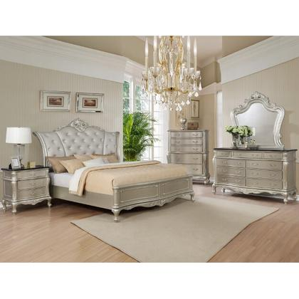 ANGELINA QUEEN BED ONLY