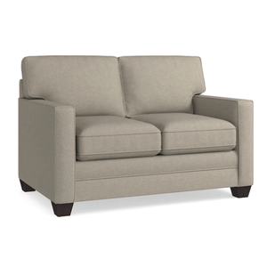 Alex Track Arm Loveseat - Straw