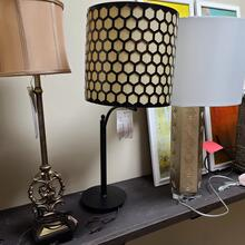Madison Bronze Metal Table Lamp (L/STLA1187)