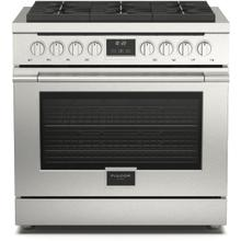 """See Details - 36"""" Gas Range - Stainless Steel"""