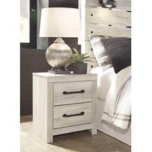 See Details - Cambeck 2 Drawer Night Stand