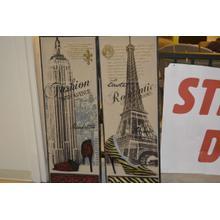 See Details - Wall art pair 3-D shoe pictures. Manhatten Paris