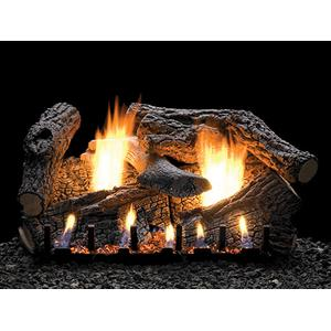 Super Sassafras Logs on Sloped Glaze Burner