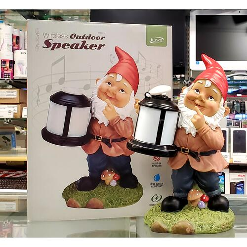Outdoor Bluetooth Gnome Speaker