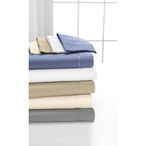 Egyptian Cotton Sheet Set Available in (Snowflake, Champagne, Truffle, Grey, Blue)