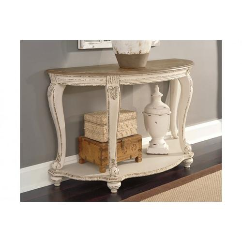 Gallery - T743 Distressed Sofa Table
