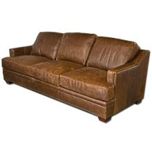 Ancient Brown Genuine Leather Sofa