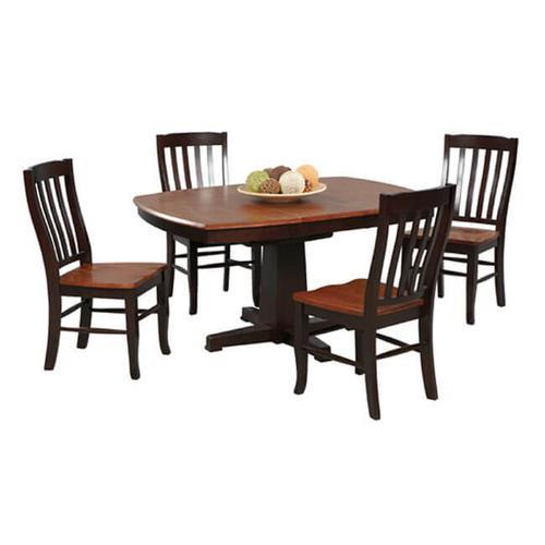 Product Image - Santa Fe Dining Set Chestnut/ Espresso