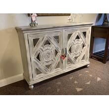 2 Door Mirrored Credenza