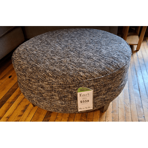 Craftmaster Furniture - Large Round Ottoman - Trekker