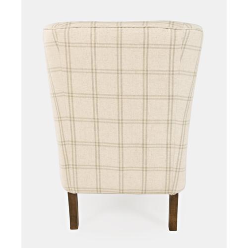 Jofran - Lacroix Accent Chair Parchment