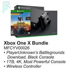 See Details - XBOX ONE X Bundle with PlayersUnknowns Battlegrounds