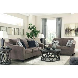 Nemoli Sofa and Loveseat Set