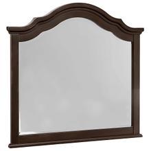 French Market Merlot Arch Mirror