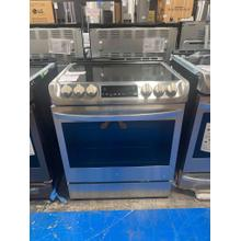 See Details - 6.3 cu. ft. Electric Single Oven Slide-in Range with ProBake Convection® and EasyClean®
