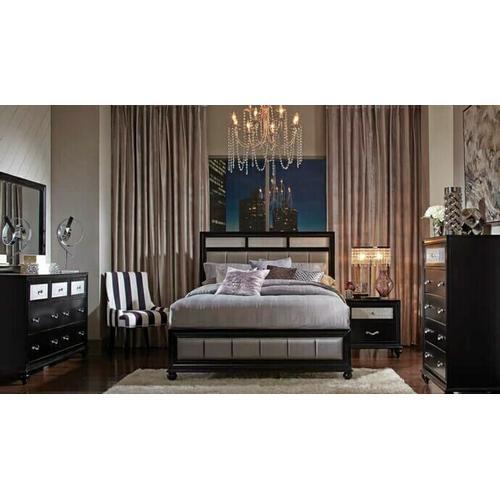 Barzini 4Pc Cal King Bed Set