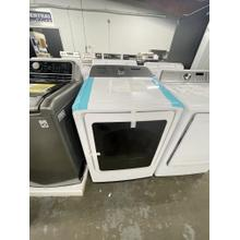 See Details - *** ANKENY LOCATION**7.4 cu. ft. Gas Dryer with Steam Sanitize  in White ***OPEN BOX ITEM**