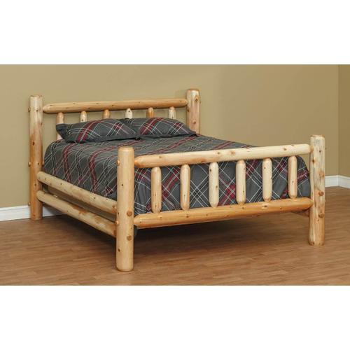 "QUEEN Standard Bed w/ 48"" Headboard"