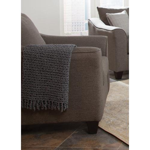 Product Image - Salizar Transitional Light Grey Chair