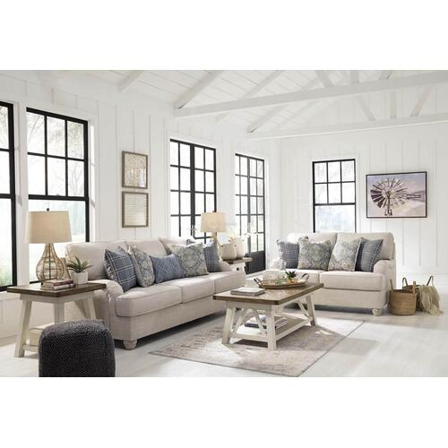 Ashley 274 Traemore Linen Sofa and Love