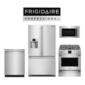 Frigidaire Professional 4 Piece Kitchen Package. Price Valid Thru 8/26/20