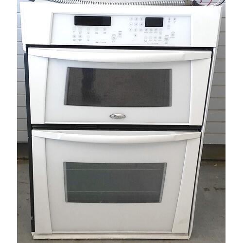 "Whirlpool - 30"" Built-in Speedcook Microwave Wall Oven Combination (USED) *90 Day Warranty*"
