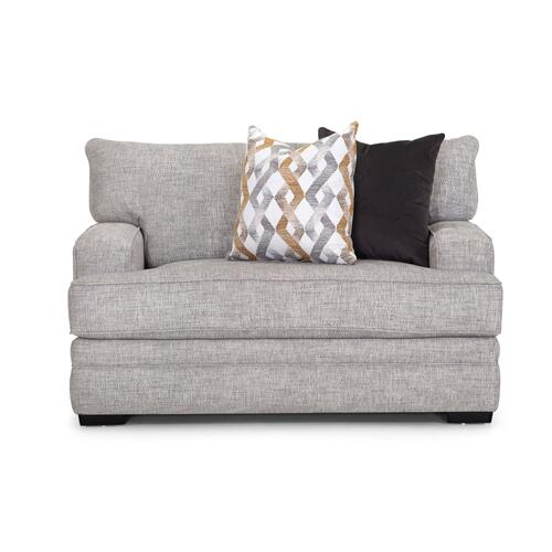 Franklin Furniture - FRANKLIN 95340-3932-25-95320-3932-25-95388-3932-25-95318-3932-25 Protege Crosby Dove Sofa, Loveseat, Chair & Ottoman Group