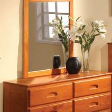 See Details - Honey 6 Drawer Dresser