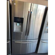 REFURBISHED 25 cu. ft. French Door with External Water & Ice Dispenser(This is a Stock Photo, actual unit (s) appearance may contain cosmetic blemishes. Please call store if you would like actual pictures). This unit carries our 6 month warranty, MANUFACTURER WARRANTY and REBATE NOT VALID with this item ISI 42085