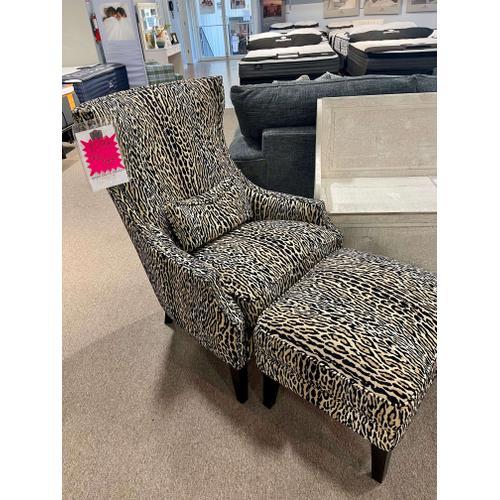 Simon Li Furniture - Katswell Onyx Accent Chair & Ottoman